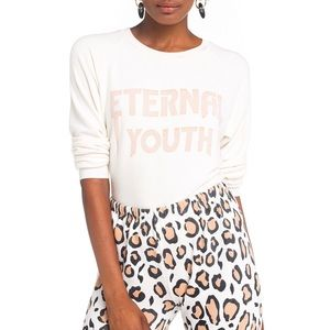 NWT Wildfox Eternal Youth Sweater